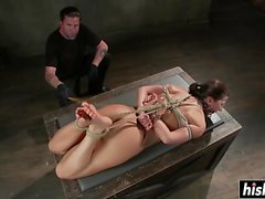 Ariel X enjoys some BDSM pleasures
