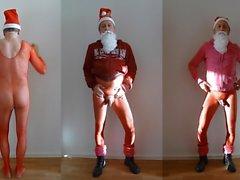 941 at1 Santas Helper nackt Christkind Christmas naked 7c8a1
