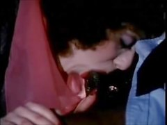 avion - hôtesses oral soin du visage rétro pipe