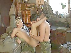 In the army