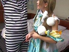 asiático bebês adolescentes japonês cosplay