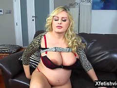 big boobs blondine fetisch milf