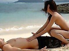 пляж минет хардкор на открытом воздухе