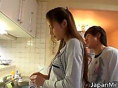 japonés chupar pantys