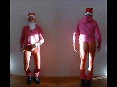 943 at1 Santa Claus Hotpants Pantyhose nackt 4all Christkind