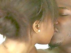 Ebony masseuse beauty