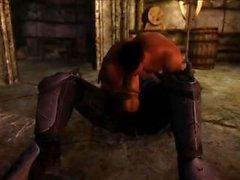 spiderman skyrim desenho animado personagens de jogo video game