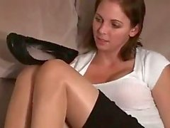 fetiche por pés milfs meias