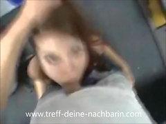 German Teen Nachbarin im Office gefickt POV