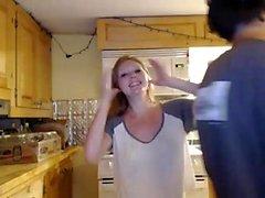любительский блондинка собачьи веб-камера
