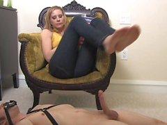 Mistress Footjob