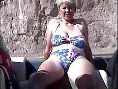 britânico grannies peludo