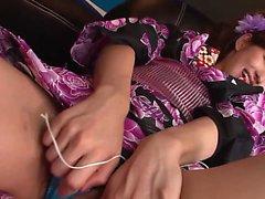 asiático boquete dedilhado peludo