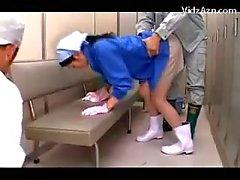 asiatique vestiaire uniforme