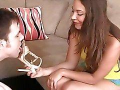 bdsm femdom los vídeos de alta definición amante esclavo
