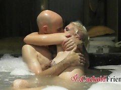 amateur blondine blowjob hahnrei