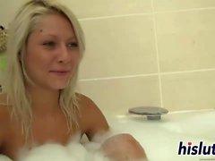 blondine brünett fingersatz lesbisch