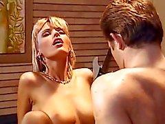 paar orale seks tiener blond pijpbeurt