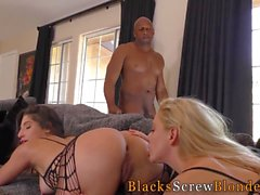 gerade anal blowjob hardcore interracial