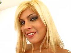 blond doordringend anaal