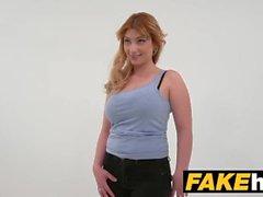 fakehub fakeagent grande sesso eiaculazione ufficio in casa intervista lucia sesso fernandez dilettante