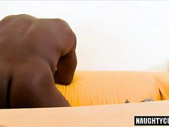 Hot daddy casting and cumshot