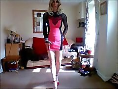 new pink minidress 1