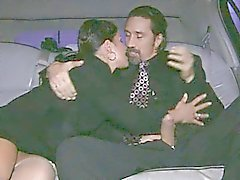 Limo anal in nude nylons