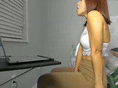 anal sekreterare spandex bikini coed