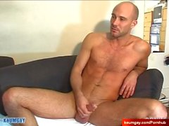 David's cock massage ! (straight guy seduced for gay porn)