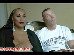 Debut HOT TS Talent with a Voluptuous Ass, Huge Tits and a Punishing Cock