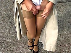 Pantyhose Outdoor part 5 of 6