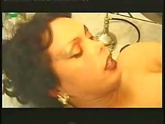 Toilet sex with Vanessa in stockings