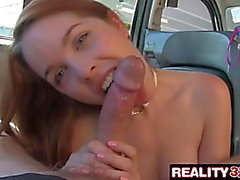 Real Taxi Spycam Sex: Redhead Amarna Miller Gets Filthy with Future Sugar Daddy