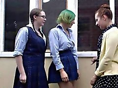 colegio fetiche hd lesbiana