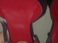 Spurt into her heels
