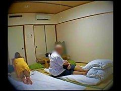 любительский азиатский японский массаж жена