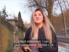 Public Agent Cute Russian Lee Anne loves sex for cash