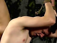 Gay high school blowjob Flogged And Face Fucked