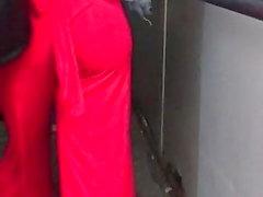 musta ja ebony julkinen alastomuus piilotettu kamerat