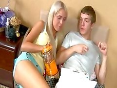 amateur blond pipe éjaculation chatte