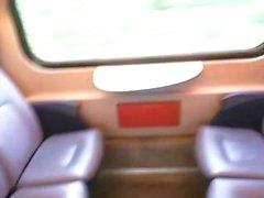 Public Train Wank 10