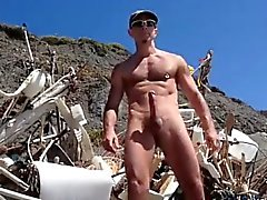 Hot Big Dick At The Beach