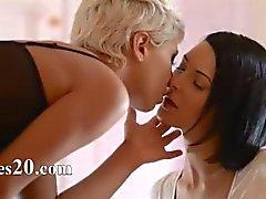 blond hotel lesbisch masturbatie