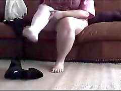 dilettante bbw grandi botti feticismo del piede calze