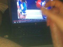 stroking to Dallas Cowboys Cheerleaders' haltime dance