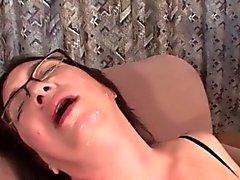 bbw morena lencería masturbación maduro