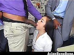 asiatisk stora kukar avsugning hardcore