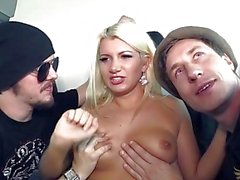 3some carro gang bang adolescente asno -fuck