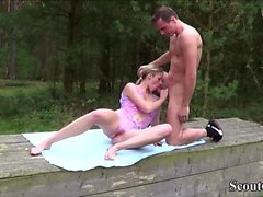 amateur blond pipe allemand